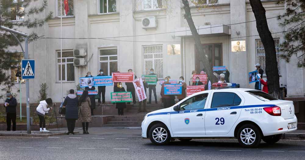 Wahlen in Kasachstan und Kirgistan - nur unter Protest